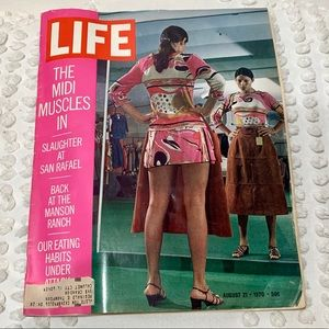 LIFE Magazine August 21, 1970 Midi Muscles In